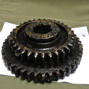 GEAR FIRST AND SECOND SPEED TRANSMISSION MAIN SHAFT