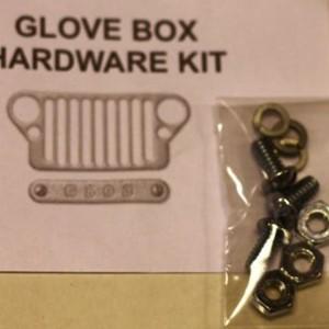 GLOVE BOX DOOR MOUNTING HARDWARE KIT