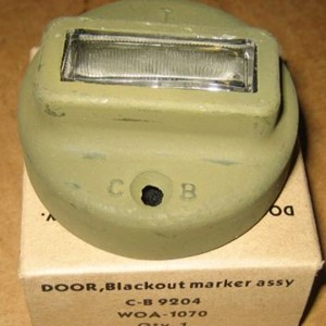 DOOR ASSY B O MARKER LIGHT