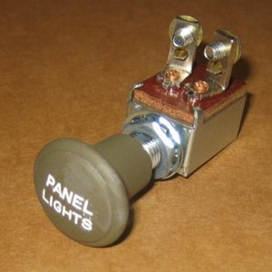 SWITCH PANEL LIGHT - LATE TYPE PLASTIC