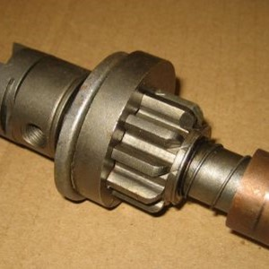 SHAFT BENDIX DRIVE W/PINION 6V & 12V