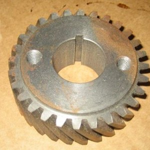 GEAR CRANKSHAFT STEEL, 28T, GEAR DRIVEN