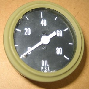 GAUGE OIL PRESSURE ASSY WILLYS MB