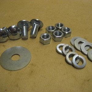 FIX KIT SKID PLATE JEEP