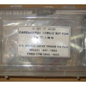 KIT REPAIR CARBURETOR CARTER
