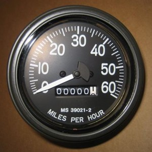 SPEEDOMETER W/TRIP MPH ORIGINAL NEW