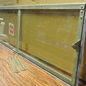FRAME WINDSHIELD W/GLASS