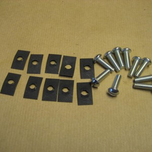 FIREWALL FIXING KIT FOR WILLYS MB AND FORD GPW