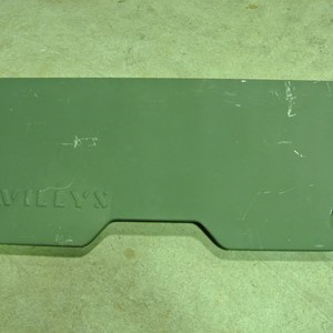 PANEL BODY REAR W/SCRIPT WILLYS