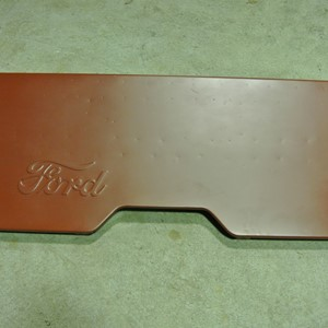 PANEL BODY REAR W/SCRIPT FORD