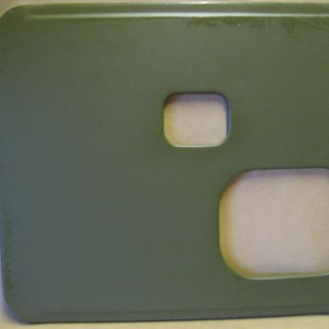 PLATE, LOWER, DRIVER SEAT STD