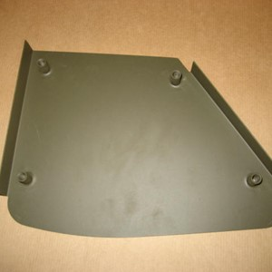 HIP PAD METAL PANEL LEFT