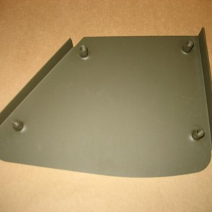 HIP PAD METAL PANEL RIGHT
