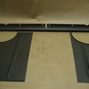 AIR DEFLECTOR WILLYS SLAT GRILL KIT
