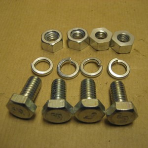 FORD GPW F-MARKED HEADLAMP HINGE TO GRILLE BOLT SET