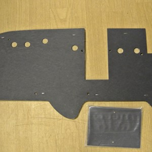 FIRE WALL PADDING KIT FOR STD/ LATE MB