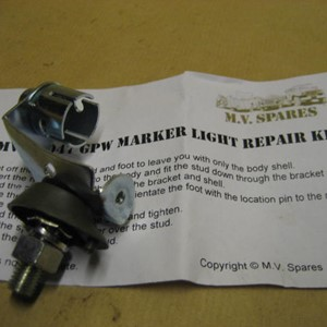 MARKER LIGHT REPAIR KIT - FORD GPW