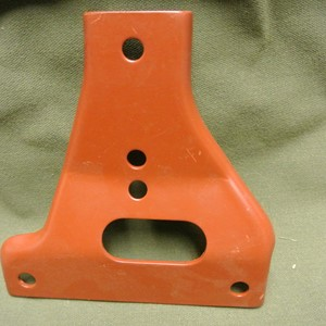 GUSSET FRONT BUMPER RIGHT UPPER WILLYS MB