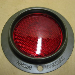 REFLECTOR RED, COCRAN BROWN WILLYS