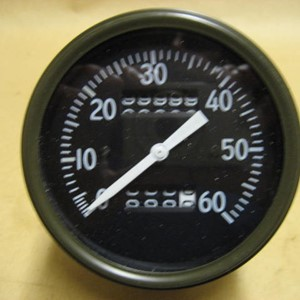 SPEEDOMETER AC STYLE - LONG NEEDLE - WILLYS