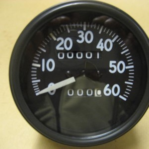 SPEEDOMETER - LATE SHORT NEEDLE MB