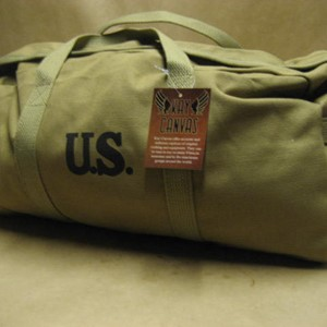MECHANICS BRASS ZIPPER TOOL BAG OLIVE DRAB