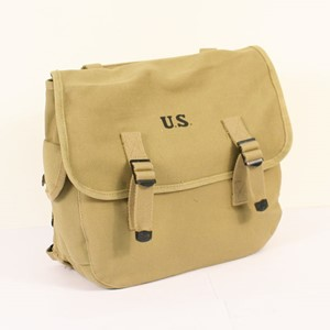 US WWII M1936 FIELD PACK M36 MUSETTE PACK TAN