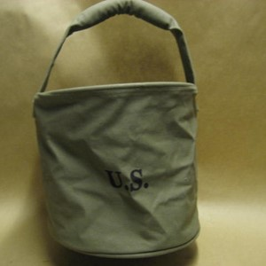 US CANVAS WATER BUCKET LIGHT GREEN