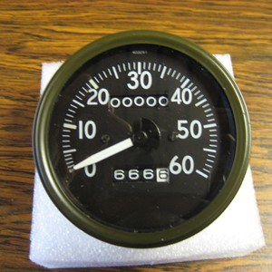 SPEEDOMETER - LATE SHORT NEEDLE SW STYLE GPW