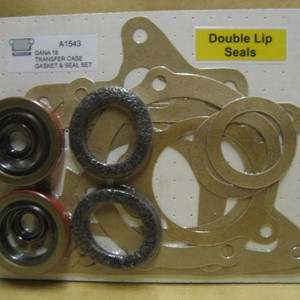 GASKET SET, TRANSFER CASE D18 W/SEALS